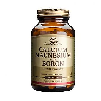 Solgar Calcium Magnesium Plus Boron 100 Tablets (515)