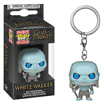 Game of Thrones hvid Walker lomme pop! Nøglering