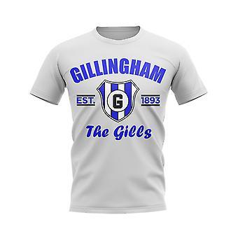 Gillingham Established Football T-Shirt (White)