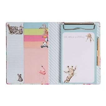 Wrendale Designs Zoology Sticky Note Set   Gifts From Handpicked