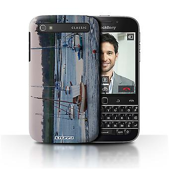 STUFF4 Case/Cover for Blackberry Classic/Q20/Yachts/British Coast