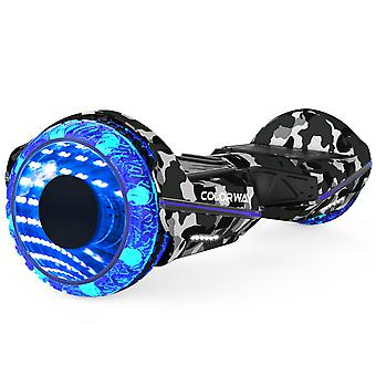 Colorway CX911 Advanced Premium Hoverboard SUV 6.5''- Electric Scooter Auto-Balance with Bluetooth&App - Led Wheels - Dual Motor - EU Safety Standard Smart E-scooter
