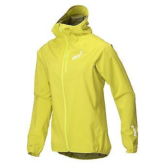 Inov8 At/c Stormshell Full Zip Mens Lightweight Waterproof Running Jacket Yellow