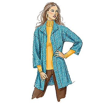 Misses' Cardigans In 2 Lengths And Belt  Y Xsm  Sml  Med Pattern M5932  0Y0