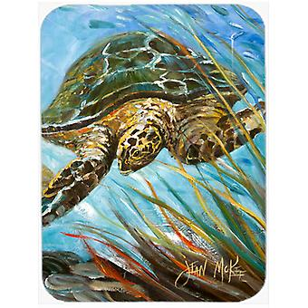 Tortue de mer caouanne Glass Cutting Board grand JMK1168LCB