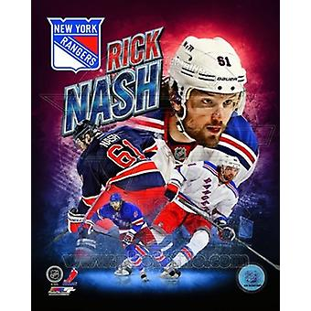 Rick Nash 2013 Portrait Plus Sports Photo