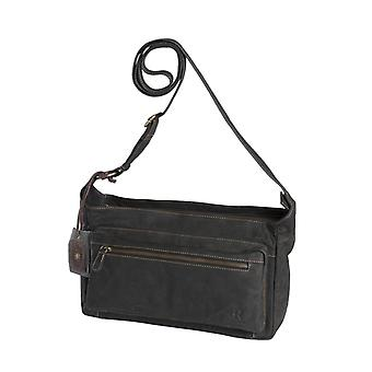 Dr Amsterdam Olive shoulder bag Black