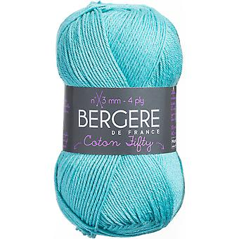 Bergere De France Coton Fifty Yarn-Turquoise COTTON-24420