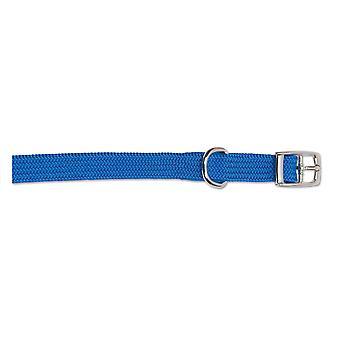 Heritage Nylon Softweave Collar Blue 20-26cm Sz1