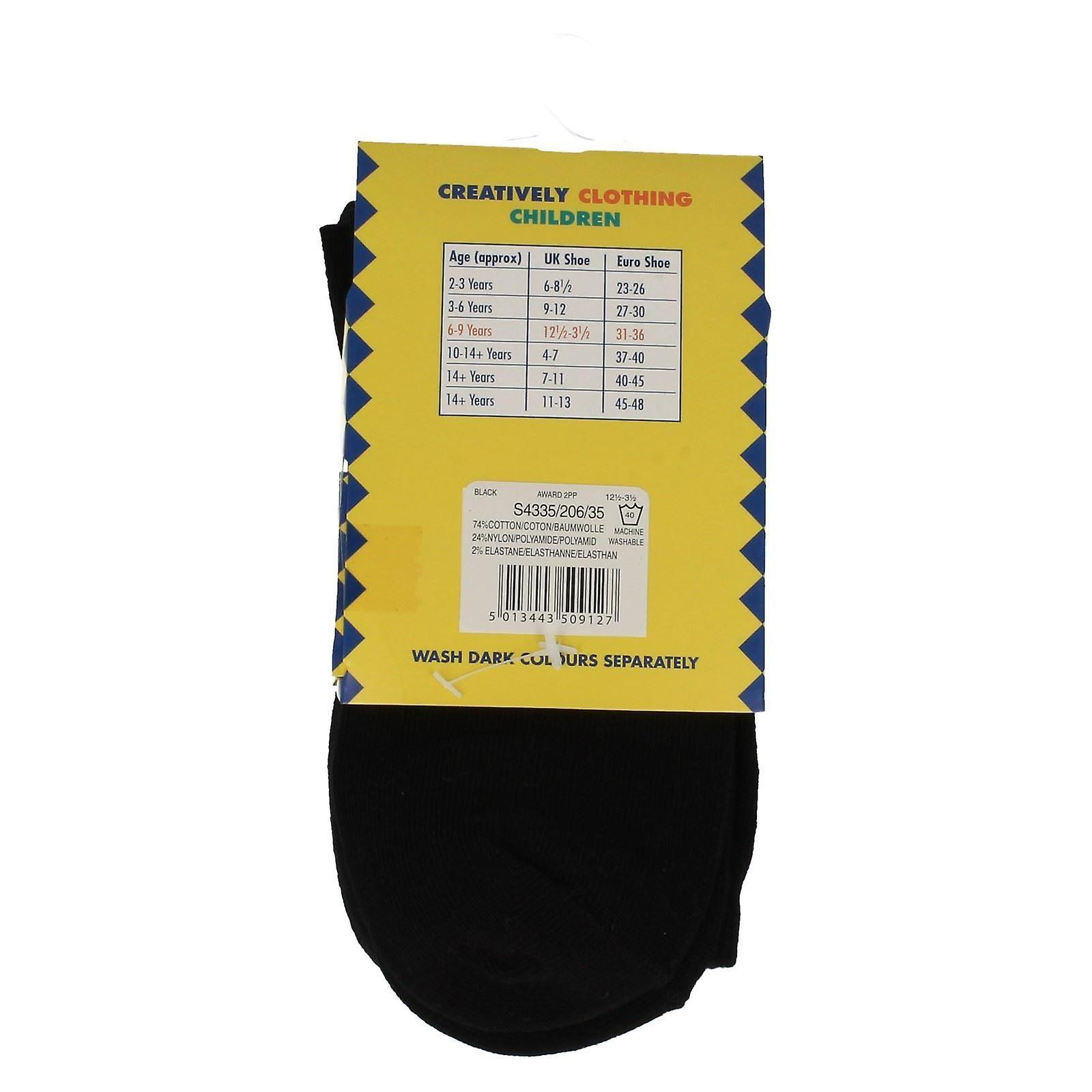 Boys PEX Cotton Rich Short Socks 2 Pairs