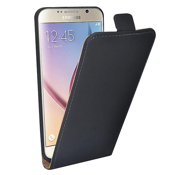Flip Pocket Deluxe black for Samsung Galaxy S6 G920 G920F