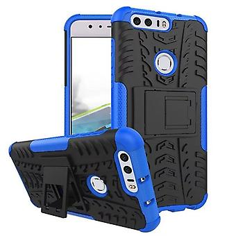 Hybrid case 2 piece SWL outdoor blue for Huawei honor 8 Pocket case cover protection
