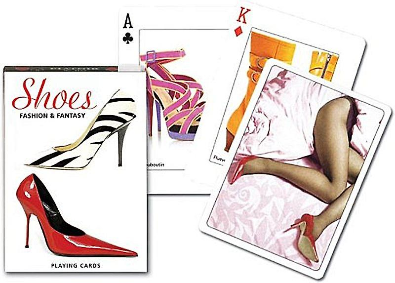 Shoes Fashion & Fantasyset of 52 playing cards + jokers   (gib)