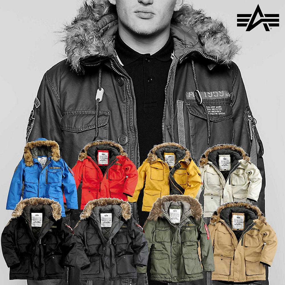 Alpha Industries Jacket Mountain Parka