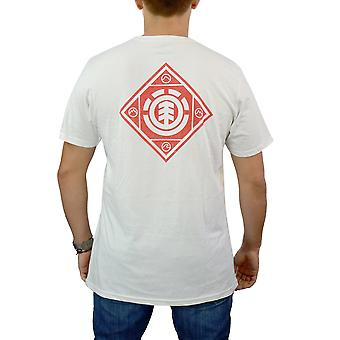 Element Diamond Logo wit licentie T-shirt