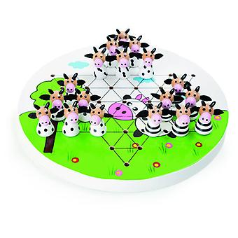 Legler Cows Chinese Checkers (Toys , Boardgames , Strategic)