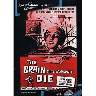 Hjernen, ville ikke dø (1962) [DVD] USA import
