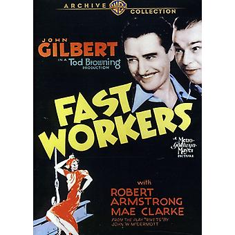 Rask arbeidere (1933) [DVD] USA importere