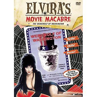 Elvira - Werewolf of Washington [DVD] USA import