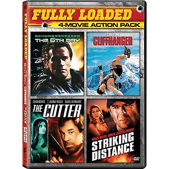 6th Day / Cutter / Cliffhanger / Striking Distance [DVD] USA import