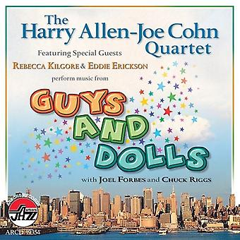 Allen-Cohn kvartetten - musik fra fyre & dukker [CD] USA import
