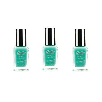 Barry de Barry M X 3 M Gelly Salut briller ongles peinture vert Berry