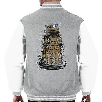 Doctor Who Dalek Exterminate Men's Varsity Jacket