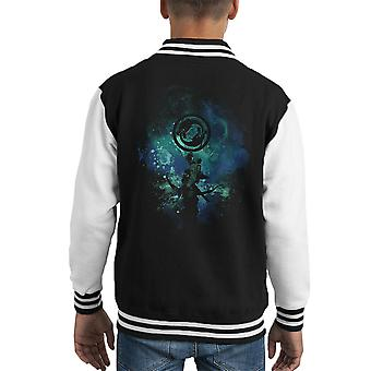 Hanzo Art Overwatch Kid's Varsity Jacket