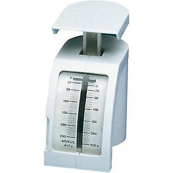Spring scale Maul Feder-Briefwaage Weight range 250 g Readabilit
