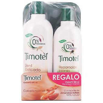 Timotei Almonds 2 in 1 Lot 2 Pieces (Hygiene and health , Shower and bath gel , Shampoos)