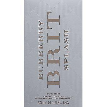 Burberry Brit Splash Eau De Toilette 50ml Spray