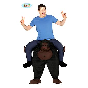 Gorilla monkey Chimp piggyback costume