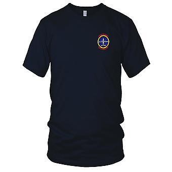 US Navy USS Holland AS-32 Polaris Pro Pace brodé Patch - Mens T Shirt