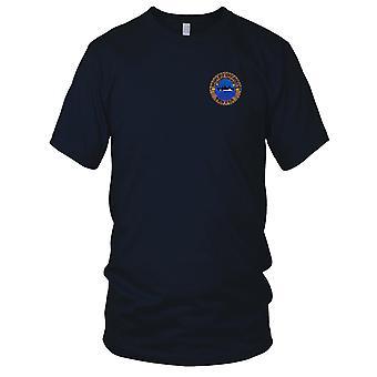 US Navy USS Holland AS-32 brodé Patch - Mens T Shirt