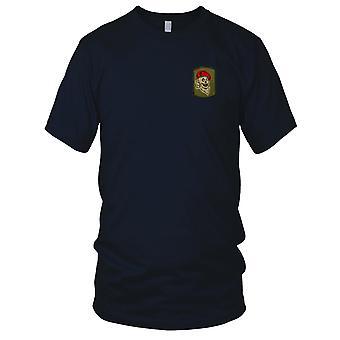 ARVN Airborne Fallschirm MACV - militärische Abzeichen Einheit Vietnamkrieg gestickt Patch - Herren-T-Shirt