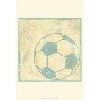 Soccer Rules Poster Print by Chariklia Zarris (13 x 19)