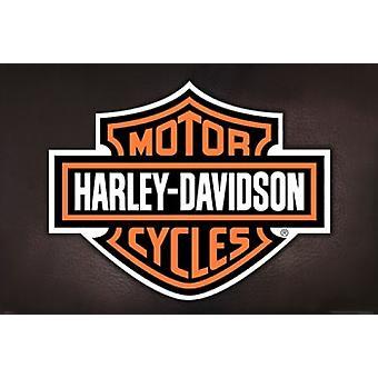 Harley Davidson - Logo Poster Poster Print