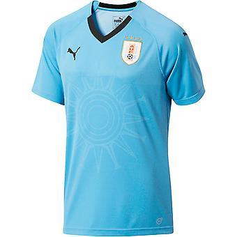 Camisa de futebol Puma casa 2018-2019 Uruguai