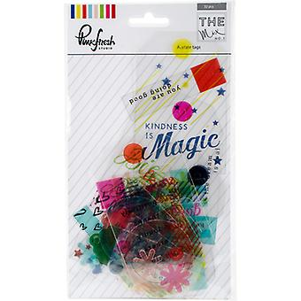 The Mix No. 1 Acetate Die-Cuts 32/Pkg-Tags RC501016