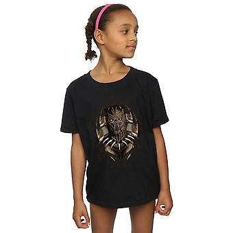 Marvel Girls Black Panther Gold Killmonger T-Shirt