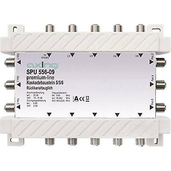 SAT cascade multiswitch Axing SPU 556-09 Inputs (multiswitches): 5 (4 SAT/1 t