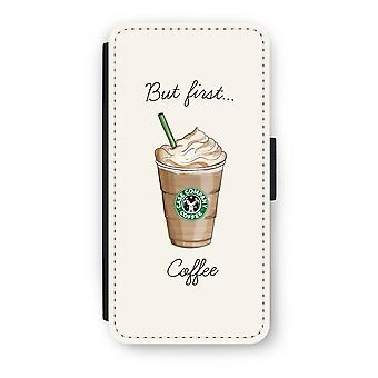iPhone 6/6S Plus Flip Case - But first coffee