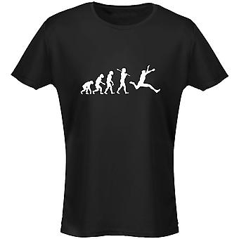 Atletiek Evo Evolution Womens T-Shirt 8 kleuren (8-20) door swagwear
