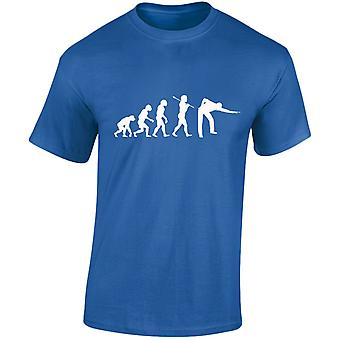 Snooker evolutie Mens T-Shirt 10 kleuren (S-3XL) door swagwear