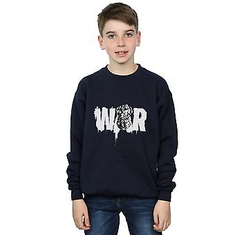 Avengers Boys Infinity War Fist Sweatshirt