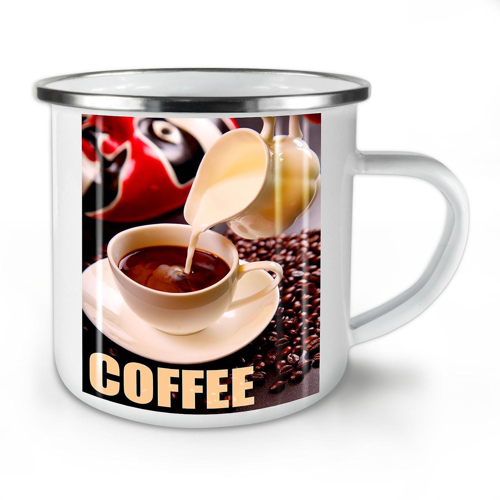 De Émail OzWellcoda Mug10 Alimentaire Nouveau Grain Lait Café Whitetea dQxWErCeBo