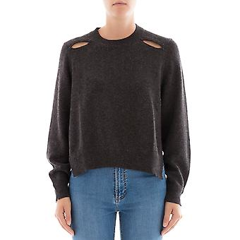 Isabel Marant ladies PU0561170A46E02AN gray cotton sweater