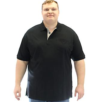 D555 Grant Fully Combed Pique Polo Shirt