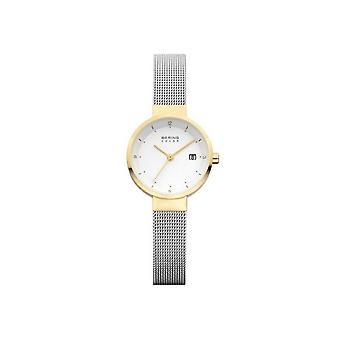 Bering Damenuhr orologio solare sottile 14426-010