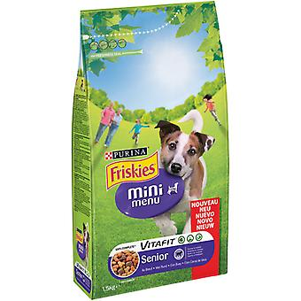 Friskies Pienso Dog  Mini Menu Senior Pollo y Buey